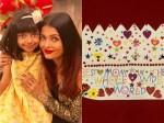 Aaradhya S Surprise Gift Aishwarya Rai Bachchan