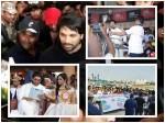 Actor Allu Arjun His Wife Kochi Fanse Give Big Surprise