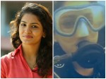 Actoress Saniya Iyappan Sucba Diving Goa