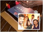 Sarkar Team Celebrates Success With Cake Cutting Party Rahman Shares Pic