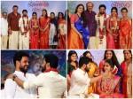 Tovino Thomas Keerthy Suresh Others Attend Vishnu G Raghav Wedding