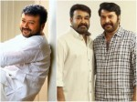 Mammootty And Mohanlal Attend Grand Father Pooja Jayaram Facebook Post