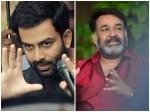 Prithviraj Says Thanks Mohanlal Acting Lucifer Movie