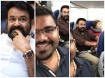 Mohanlal Responds Fan Question Flight