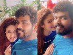 Nayanthara And Vignesh Shivan Get Ready To Celebrate Christmas See Pics