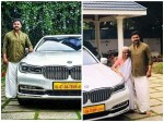 Dileep Bought Bmw7 Series New Car