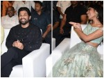 Priya Varrier Roshan Abdul Others Share The Stage With Allu Arjun