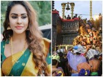 Sri Reddy Says About Sabarimal Woman Entry