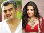 Vidhya Balan Talks About Ajith S Tamil Movie