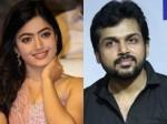 Rashmika Mandanna In Karthi S Next Movie