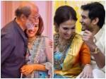 Rajinikanth Grooves Oruvan Oruvan Mudhalali At Soundarya Vishagans Pre Wedding Bash