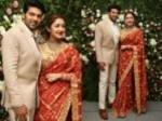 Arya Sayyesha Chennai Reception Pics Viral