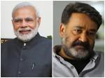 Loksabha Election 2019 Narandra Modi S Tweet Mohanlal
