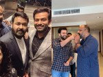 Mohanlal Prithviraj S Latest Chat About Lucifer