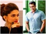 Salman Khan Reacts On Not Working With Deepika Padukone