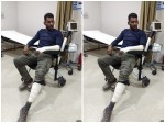 Actor Vishal Met An Accident