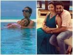 Abhishek Bachchan Posts Pretty Photo Of Aishwarya And Aaradhya