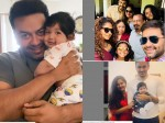 Poornima Indrajith Is Happy With Family See The Photos