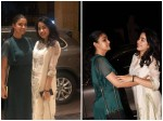 Keerthy Suresh Bonds With Janhvi And Boney Kapoor In Mumbai