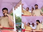 Mammootty Joins With Innocent Election Campaign
