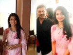Meera Jasmine Is With Dileep Latest Pic Trending In Social Media