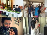 Prithviraj S Vishu Celebration Pics Trending In Social Media