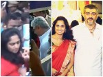 Ajith And Shalini Skip The Queue At Poll Booth Two Women Blast Them
