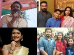 Biju Menon And Priya Warrier Supports Suresh Gopi