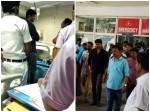 Actor Vijay Visits Injured Crew Member At Hospital