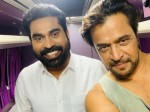 Suraj Venjaramood With Action King Arjun