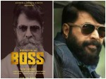 Boss Mammootty New Look Out