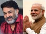Modi S Words Share Actor Mohanlal