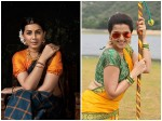 Actress Nikki Galrani New Photoshoot Ravi Varma S Paintings Model