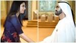Nyla Usha Facebook Post About Highness Sheikh Mohammed Bin Rashid Al Maktoum