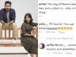 Aishwarya Lakshmi S Comment About Asif Ali S Post