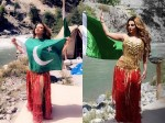 Rakhi Sawant S Photo With Pakisthani Flag Creates Contraversy