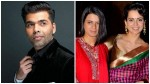 Kangana Ranaut S Sister Rangoli Opens About Karan Johar
