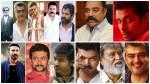 Kollywood Actors Rajinikanth Ajith Vijay Are In The Top Tier