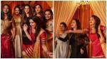 Bhavana And Ramya Nambessan Others Celebrating Shweta S Engagement