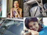 Archana Kavi S Narrao Esape From An Accident See The Post