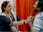 Uppum Mulakum Balu And Neelu In A Romantic Mood