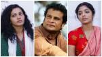 Hareesh Peradi Wishing Parvathy Rima And Ramya Nambeesan