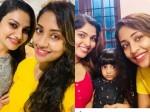 Navya Nair Meets Rimi Tomi And Muktha Pics Viral