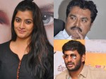 Varalakshmi Sarath Kumar Getting Angry With Vishal See The Tweet