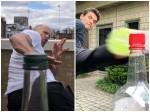 Hollywood Bottle Cap Challenge Viral