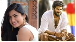 I Like To Act Dulquer Salmaan Says Rashmika Mandanna