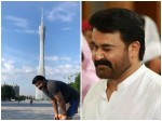 Mohanlal In Chin For Ittimani Shoot Pic Viral