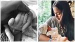 Sameera Reddy Share Her Baby Girl Photo