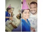 Sarayu Mohan S Birthday Celebration With Hubby
