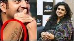Vanitha Says About Robert Hand Tattoo